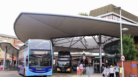 Norwich had hoped to be awarded millions for transport improvements including buses. Picture: DENISE