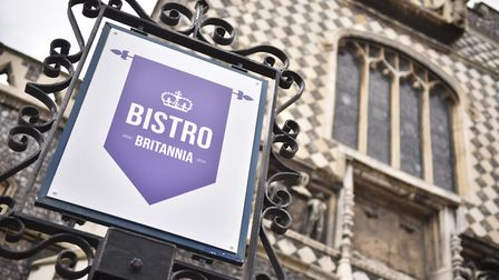 Bistro Britannia Cafe at Guildhall. Picture : ANTONY KELLY