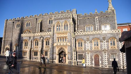 The Guildhall, Norwich. Picture: DENISE BRADLEY