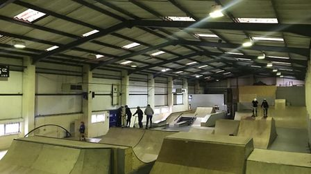 Skaters on boards, scooters and BMX bikes can use the ramps. Picture: ChargeUnit/Facebook