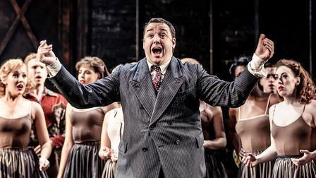 Jason Manford in Curtains The Musical which is running at Norwich Theatre Royal until Saturday Credi