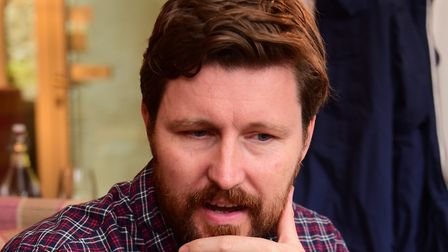 Director Andrew Haigh at Cinema City for the regional premiere of his film 45 Years, which was filme
