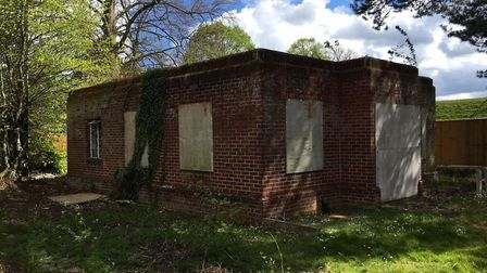 A former pump station on Hall Road which is to be converted into a home. Picture: Vello