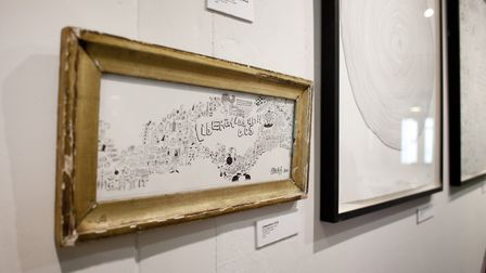 Mindlessness exhibition at Flint Hair. Picture: Kate Wolstenholme