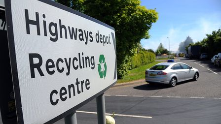 The planned new Harford site would replace the existing recycling centre at Ketteringham. Picture: S