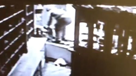 CCTV footage of a raid on Jonathan Trumbull designer clothes store in Norwich. Picture: Jonathan Tru