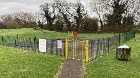 Bridle Road, in Watton, where the new playground will be built. Photo: Emily Thomson