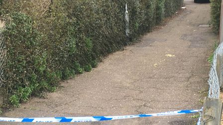 Police were called to an incident in the Cavell Road area of Lakenham. Photo: Peter Walsh