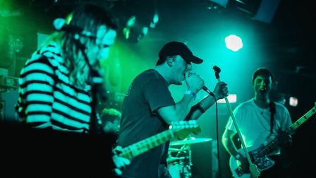 Sun Arcana supporting The Maine at The Waterfront in Norwich. Picture: Daniel Smith