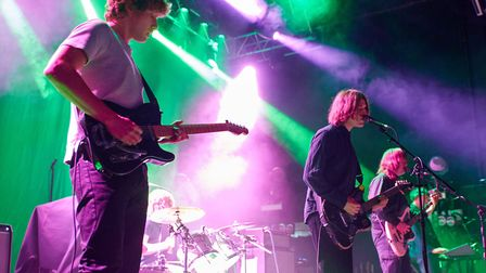 Toy supporting Fontaines D.C. at The LCR, UEA in Norwich on 24th February 2020. Picture: Steve Hunt