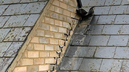 Lead has been stolen from a school roof in Carbrooke. Picture: Hannah Wheeler