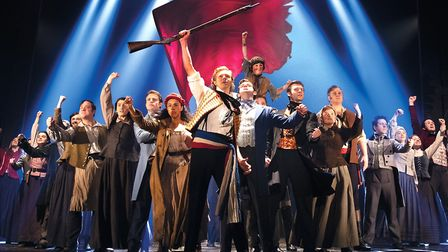 Norwich Theatre Royal cancelled the Monday evening's performance of Les Miserables following the gov