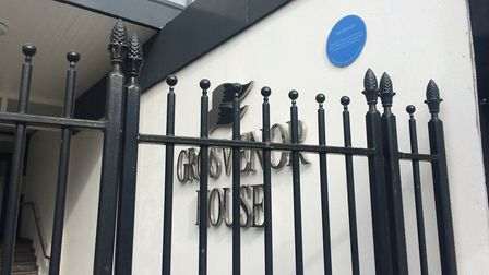 Grosvenor House on Prince of Wales Road, Norwich, where inspectors found fire hazards. Photo: Archan