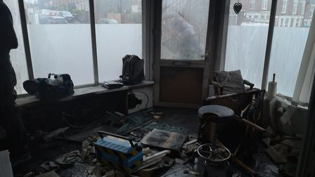 A fire tore through Forever Enhanced on Knowsley Road and has damaged products including LVL lashes
