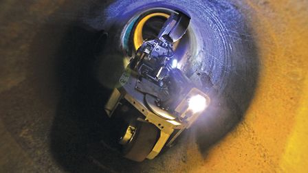 Futuristic Gas-Bots have been hard at work beneath the historic streets of Norwich as Cadent debuts