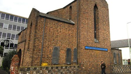 The homeless hub will open next to the Greek Orthodox Church on Recorder Road, Norwich. Photo: Norwi