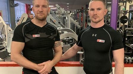 Boss of Phoenix gym in Norwich, Mark Bone, left, has said the gym has closed after a member reported