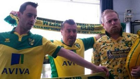 As well as music, Mark Page was an avid Norwich City fan and season ticket holder. Picture: Steven G