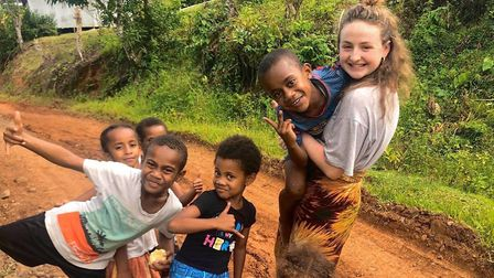 Emily Rash said she was in Fiji with an expired visa, and was unsure of her next steps. Picture: Emi