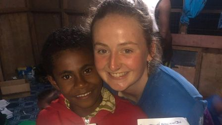 The former Norwich School student spent four days in Fiji airport trying to get a flight. Picture: E