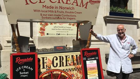 Norwich-based Ronaldo Ices has closed down operations at its Lothian Street factory 'until further n