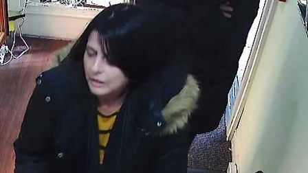 Police want to speak with a man and a woman after a fake chain was sold to a jewellers in Norwich. P