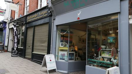 The Giggly Goat on Lower Goat Lane is celebrating its 6th anniversary. Picture: Helen Fisher
