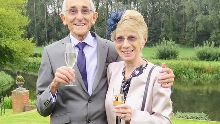 Mike and Pauline Chapman were set to celebrate their diamond wedding anniversary on April 2 but have