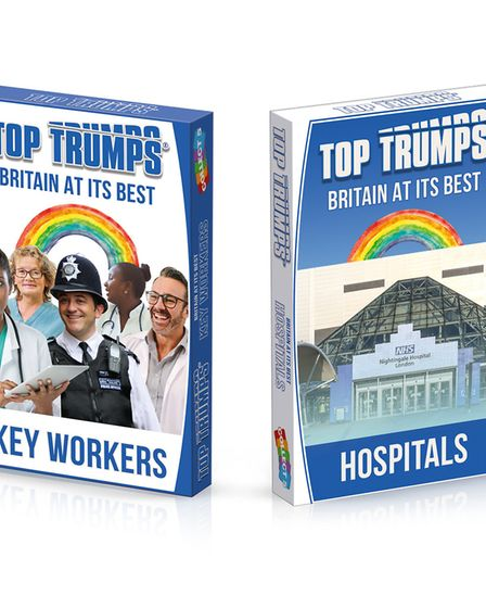 Top Trumps is set to release Britain at its Best pack to celebrate keyworkers and hospitals during t