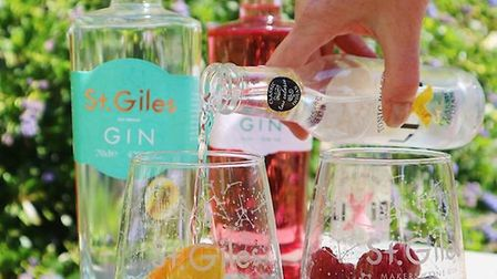 St Giles. Distillery has launched home isolation kits with their two award-winning gins and assorted