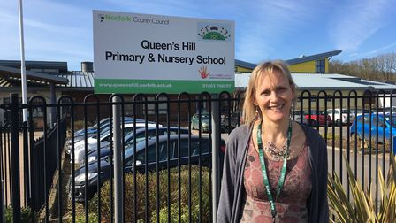 Penny Sheppard, headteacher of Queen's Hill Primary School and Nursery. Picture: SOPHIE WYLLIE