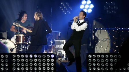 The Killers were set to perform at Carrow Road on June 1. Picture: PA Archive/PA Images