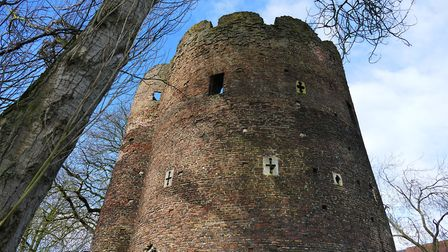 Cow Tower, an artillery tower by the River Wensum in Norwich. Picture: Lesley Buckley