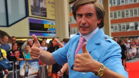 Alan Partridge could be named Britain's greatest comedy character. Photo: Steve Adams