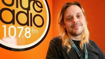 Future Radio presenter Lee Staples, who has died in his early 40s. Picture: Future Radio`