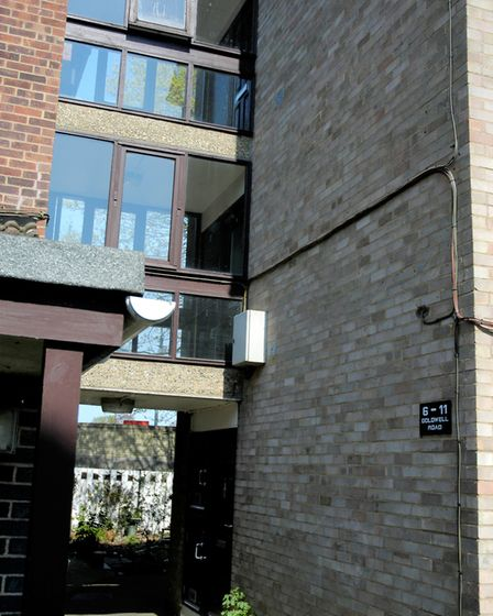 50 residents at Gordon Square and Goldwell Road in Norwich signed a petition for new door entry secu