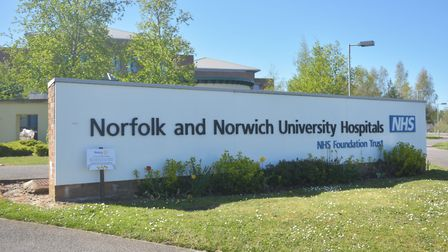 Norfolk and Norwich Hospital. Picture: Brittany Woodman