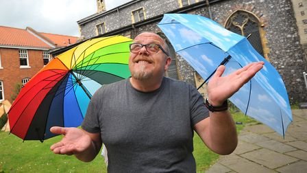 Norwich Arts Centre director Pasco-Q Kevlin is confident the venue can weather the storm of the Covi