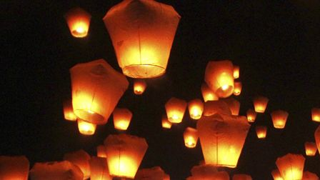 Fire chiefs and Norfolk countryside campaigners have urged people not to use sky lanterns to show su