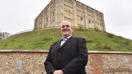 Stefan Gurney, executive director of Norwich Business Improvement District Picture: Sonya Duncan