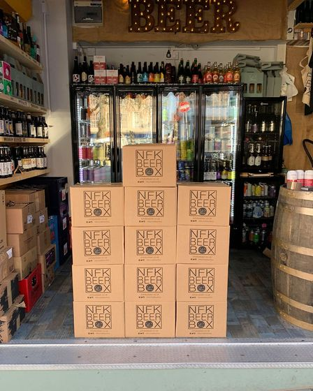 Sir Toby's Beers and the Norwich branch of Zedify have launched a partnership to deliver beer boxes