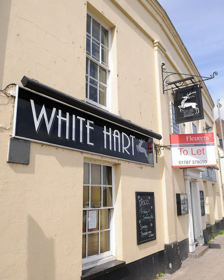 The White Hart Pub in Swaffham. Picture; Matthew Usher