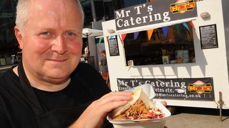 Tony Lacey, director of Feast on the Street, which has announced it is closing. Picture: Denise Brad