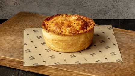 Pieminister pies are available in three flavours, including a vegan option Credit: Supplied by The R