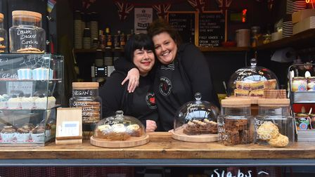 The Cuppie Hut at Norwich Market is run by best friends Mel Abel and Kim Cooper. Picture: Brittany W