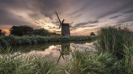 Brograve Mill, a picture by Norwich based photographer Dibs McCallum who became an award-winning pho