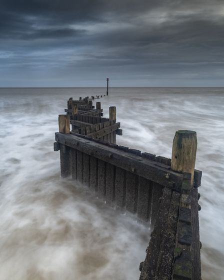 Dibs McCallum enjoys photographing the Norfolk coast, pictured Overstrand. Picture: Dibs McCallum