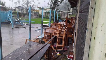 Fiji has been hit by Cyclone Harold, which formed off the Solomon Islands in early April. Picture: E