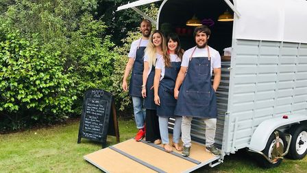 The Moco Kitchen team who are opening their first cafe in Norwich Picture: Moco Kitchen