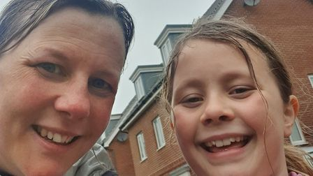 Carla and Sophie Cole will be completing a 10k challenge for the Norfolk and Suffolk Foundation Trus